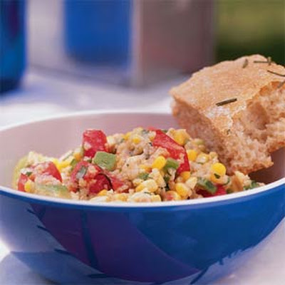 Millet Salad with Sweet Corn and Avocado