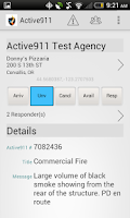 Screenshot of Active911