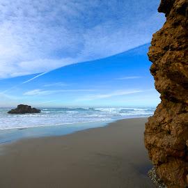 California Coast by Edward Grylich - Landscapes Beaches ( sea scape, ocean, beach )