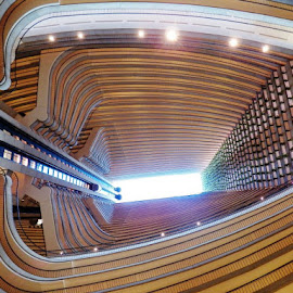 Marriott Atlanta  by Nadia Anabtawi - Buildings & Architecture Other Interior