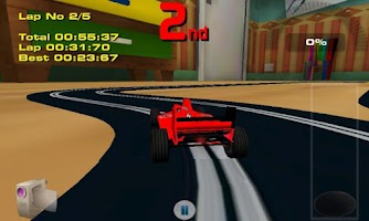 Screenshot of Scalextric Free