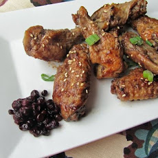 Huckleberry Glazed Chicken Wings