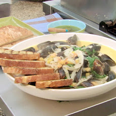 Steamed Mussels with Fennel and Ouzo