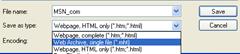 Saving Webpage as in MHT in IE
