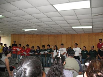 pastores iniciales de san Mateo y san Andres