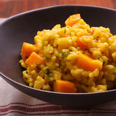 Squash and Saffron Risotto Recipe