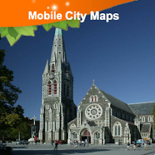 Christchurch Street Map