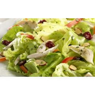 Chicken Salad with Cranberries, Almonds, and Orange Vinaigrette