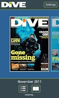 Screenshot of DIVE Magazine