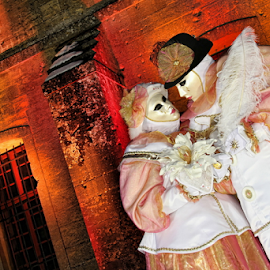 Pierrots by Dominic Jacob - News & Events Entertainment ( venezia, carnival, carnevale, venice, venise, pierrot )
