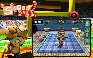 Screenshot of Slyon Ball