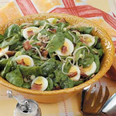 Bean Sprout Spinach Salad
