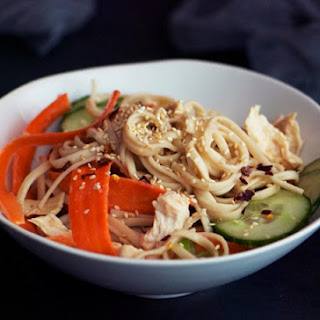 Shredded Chicken Breast and Noodle Salad