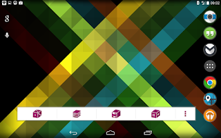 Screenshot of Origami Live Wallpaper