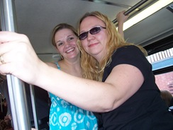 Marge & Brigit_bus