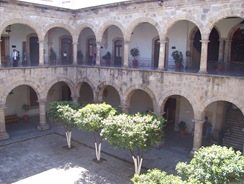 Courtyard in Governor's Palace