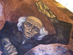 Orozco Mural @ Palacio del Gobernador