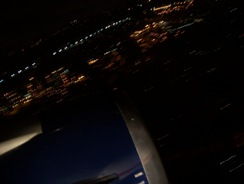 About to land in Seattle