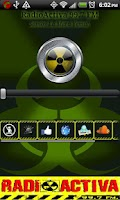 Screenshot of RadioActiva HN