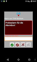 Screenshot of Alarm Box
