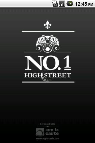 No.1 High Street