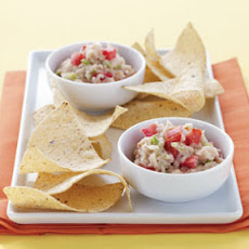 White Bean Salsa & Chips