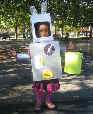 Recyclobot Costume