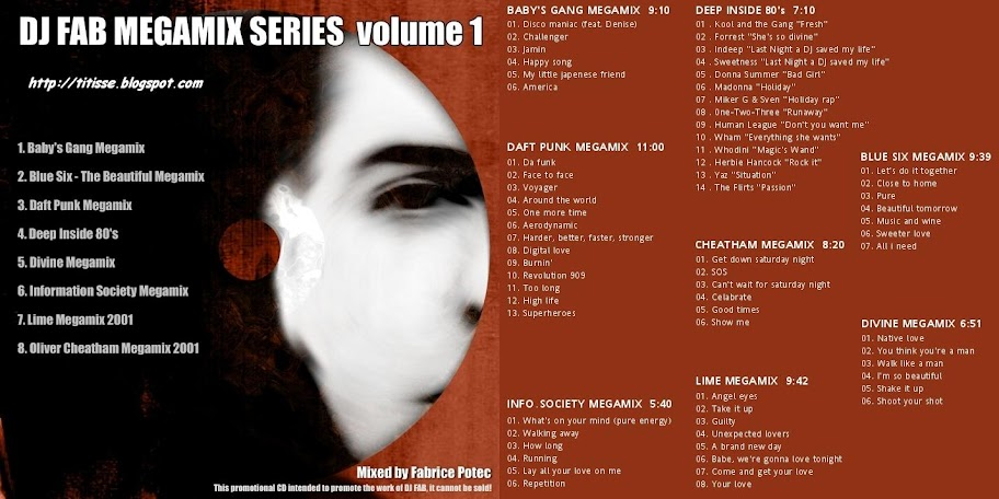 Dj Fab Megamix Series Vol 01