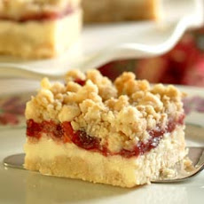 Premier Cheesecake Cranberry Bars