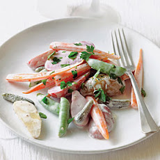 Baby Vegetable Salad with Cornichons