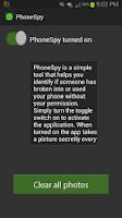 Screenshot of PhoneSpy: Secret Camera