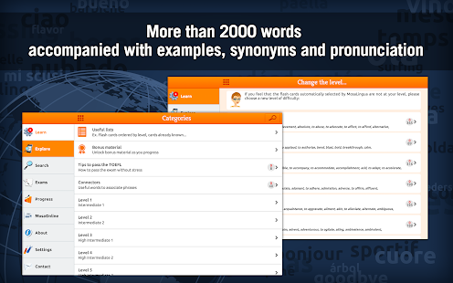 Learn TOEFL Vocabulary- screenshot thumbnail