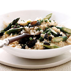 Risotto with Asparagus and Morel Ragoût