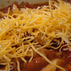 Chili with Ziti