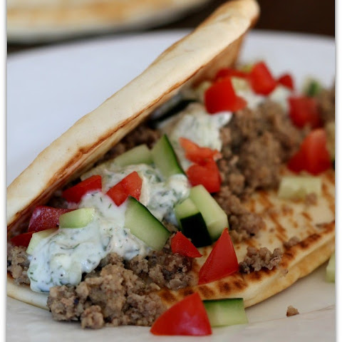 Recipe for Slow Cooker Greek Turkey Pitas