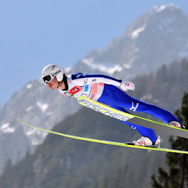 Daiki Ito by Krume Ivanovski - Sports & Fitness Other Sports ( daiki ito, sky jump, planica, sky flying )