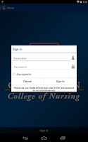 Screenshot of Chamberlain College of Nursing