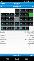 Screenshot of My TimeBook