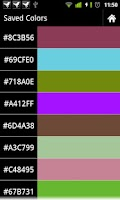 Screenshot of Random Color With Shaker