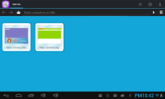 Screenshot of Kids Safe Browser - License