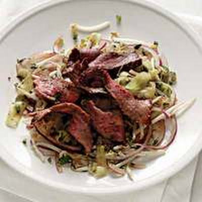 Spicy Steak Salad with Mint