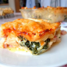 Chicken and Ham Lasagne