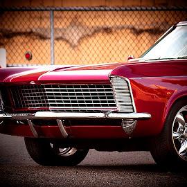 Widow's Car by Nancy Senchak - Transportation Automobiles