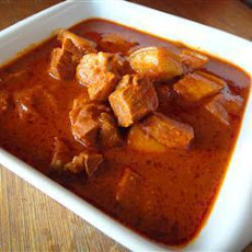 Spicy Pork Vindaloo