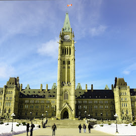 Parliament of Canada by Rajat Das - Buildings & Architecture Public & Historical ( parliament, canada, ottawa, rajat )