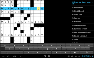 Screenshot of Crossword  Puzzle (US) game