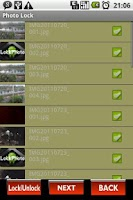 Screenshot of Photo Lock