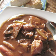 Easy Italian Beef Stew (Crock Pot)