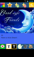Screenshot of Good Night Card