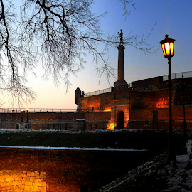 Kalemegdan park  by Verica Pavlovic - City,  Street & Park  Historic Districts